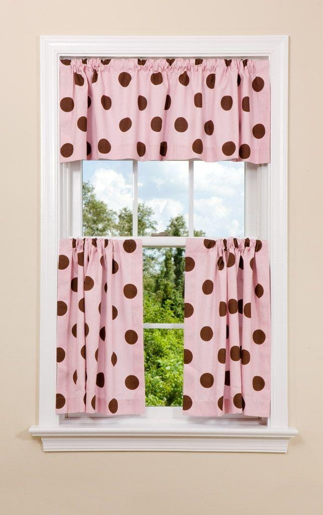Modern Dot Kitchen Curtain Panel. Nursery CurtainsContemporary  CurtainsDiscount ...