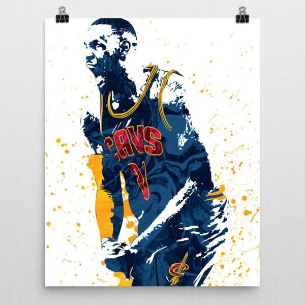 Custom LeBron James Cleveland Cavaliers Poster. Shop PixArtsy.com for posters, mugs, pillows & more of your favorite teams and characters. FREE US Shipping.