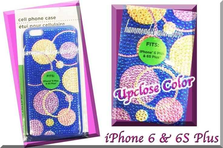 IPHONE 6 & 6S Plus  Hard Gem Case Smartphone CIRCLES DESIGN UNIQUE  | eBay