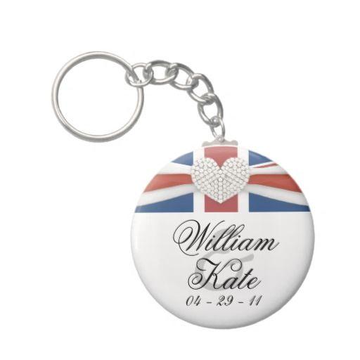 Prince William  Kate - Royal Wedding Souvenir Key Chains