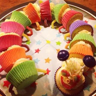 Francesca Kookt!: Kindertraktatie: De cupcake rups