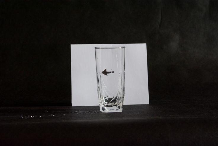 Pomůcky: sklenice, voda, papír, fix (foto Svoboda)