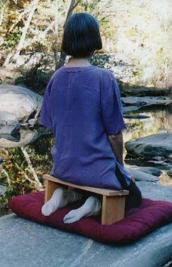 Как сделать складную скамейку для медитации
