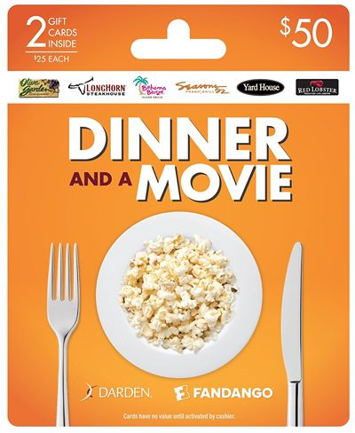 Olive Garden Dinner and a Movie Gift Card Sweepstakes - Gift Baskets - find your perfect gift with Kudosz Gift Baskets