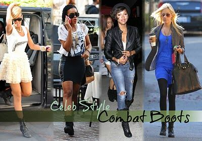 Combat Boots Trend - Military Style Trend