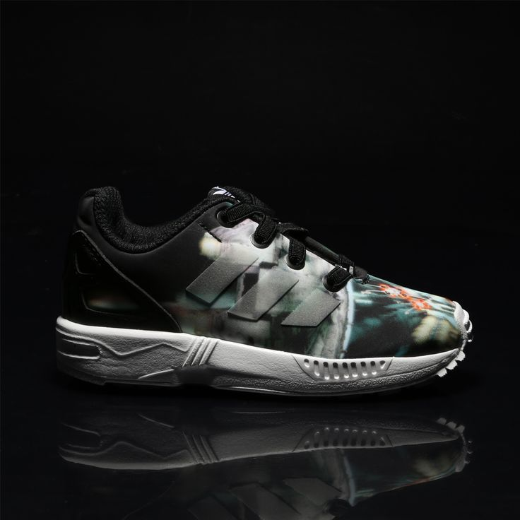 May the force be with you... Little one! Cute kids Star Wars adidas ZX Flux sneakers! http://www.shoeconnection.co.nz/products/ADI84A5X1A0