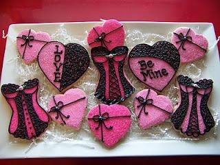 Wir sind verliebt in diese #Dessous Kekse!
