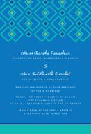 Wedding cards Geometric Jewel Minty Teal Wedding