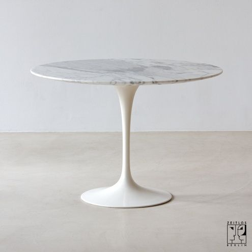 Saarinen Tulip dining table round