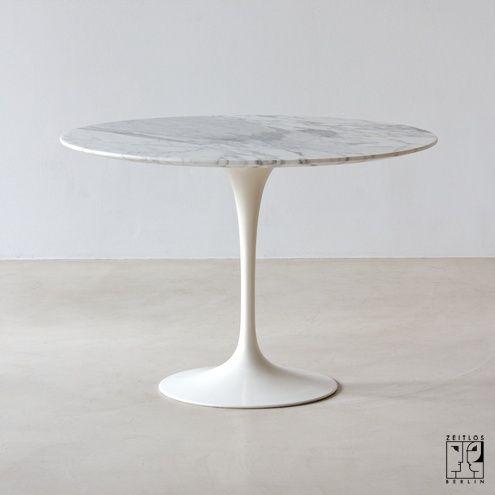 Saarinen Tulip dining table round