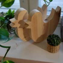 Wooden birds - by Anni Leppanen