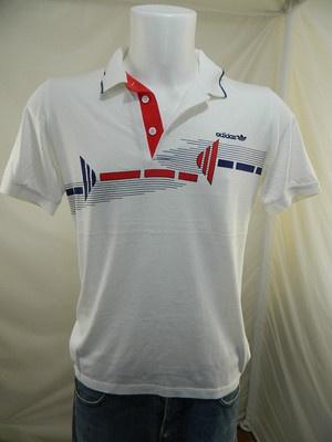 Adidas Ivan Lendl Polo T Shirt Maglia Maglietta Tennis Vintage G461   eBay