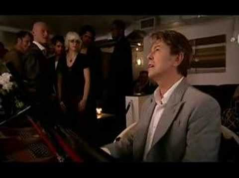 David Bowie shares a writing credit with Ricky Gervais in this scene from the sitcom Extras.