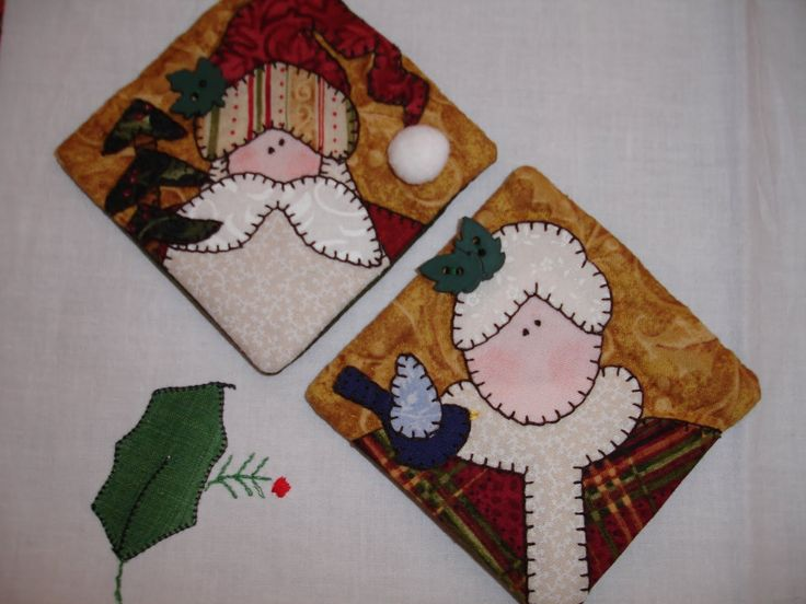 Patchwork Christmas ornaments 1 to 5/10 Recycled-Homemade Christmas Ornaments