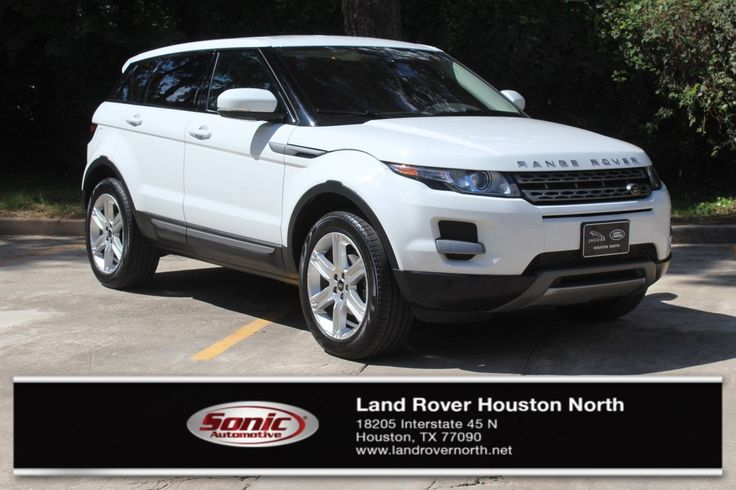 Used 2013 Land Rover Range Rover Evoque  For Sale in Houston TX | Stock: TDH734557