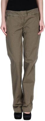 SCERVINO STREET Casual pants - Shop for women's Pants - Military green Pants