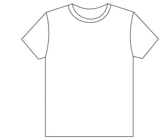 Okul Oncesi Gomlek T Shirt Boyama Sayfasi Gomlek Tisort Okul