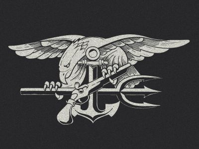 Navy Seals Crest by Nathan Shinkle