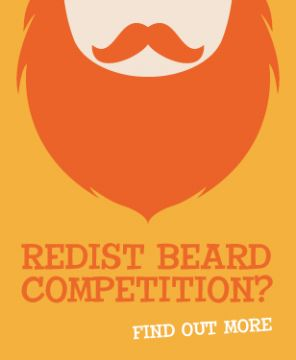 the Irish Redhead Convention - reddist beard competition- yes!!! Dad totally could have won back in the day!
