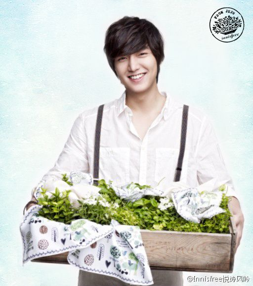 Lee Min Ho . Innisfree . Handsome as always :)