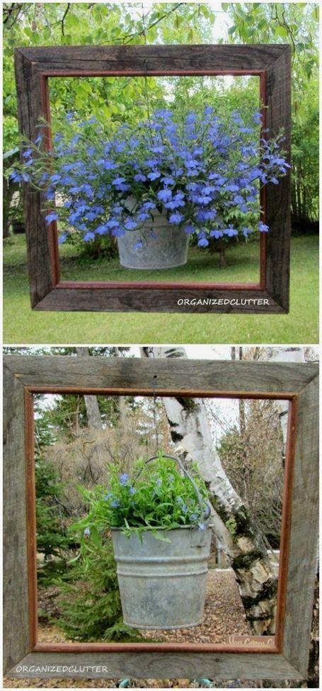 Ich habe eine Sammlung von 21 schönen DIY Gartendekor-Ideen vorbereitet
