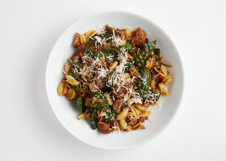 Cavatelli with Pork Ragù A low, steady simmer makes this braise a great pork ragù to pour over your cavatelli