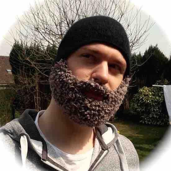 Tuto bonnet barbe qui tient chaud !
