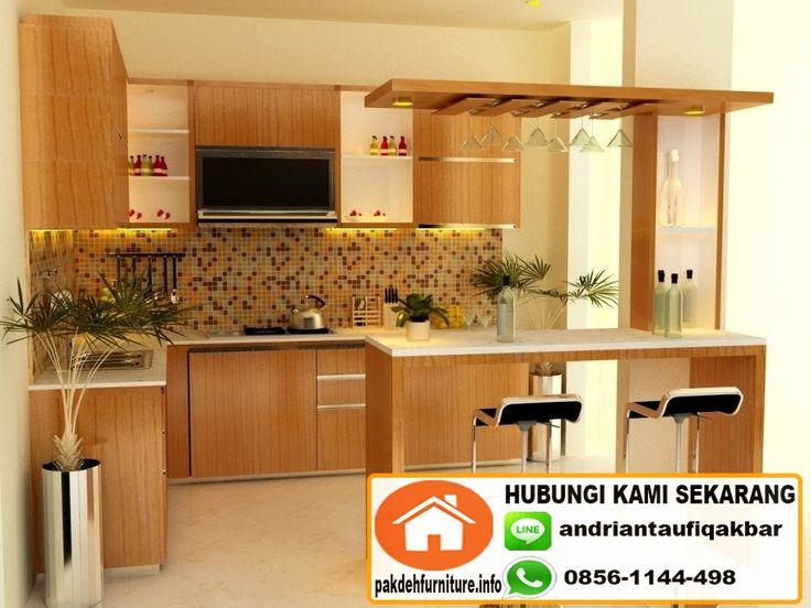 Jual Custom Kitchen Set Mini Bar Murah Di Bogor