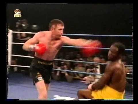 Steve Collins vs Chris Eubank I