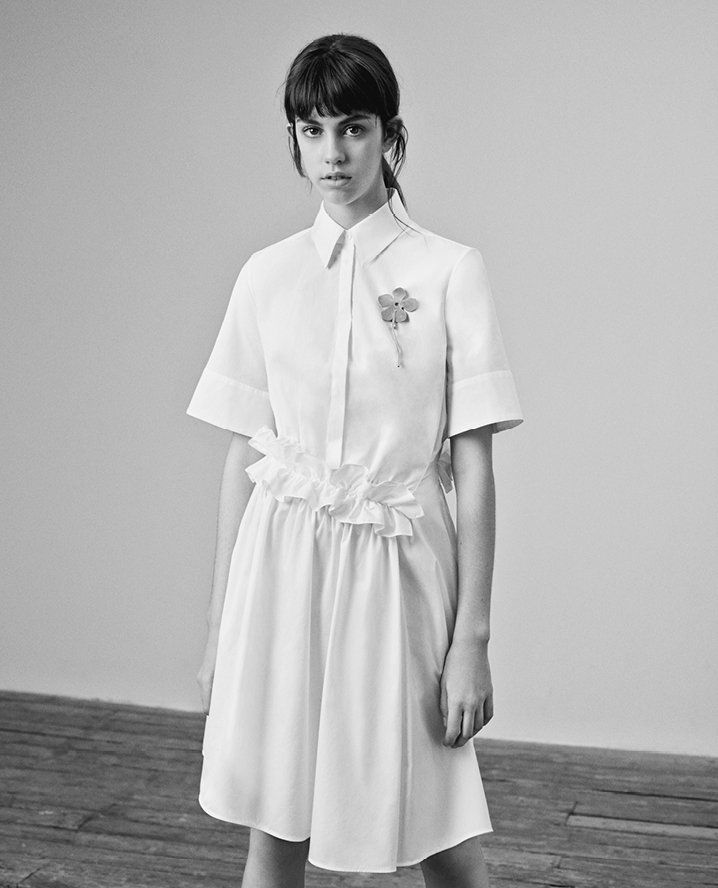 Pin for Later: You Just Can't Miss the Pretty Little Floral Details in the New Victoria Victoria Beckham Collection
