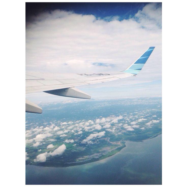 Take off to banjarmasin 120215 ✈️⛅️