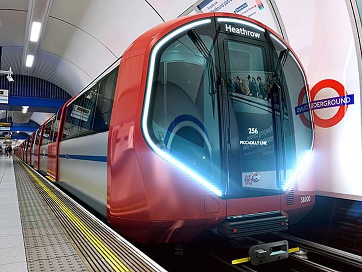 Bombardier Transportation and Hitachi Rail Europe, rolling stock for London Underground's New Tube