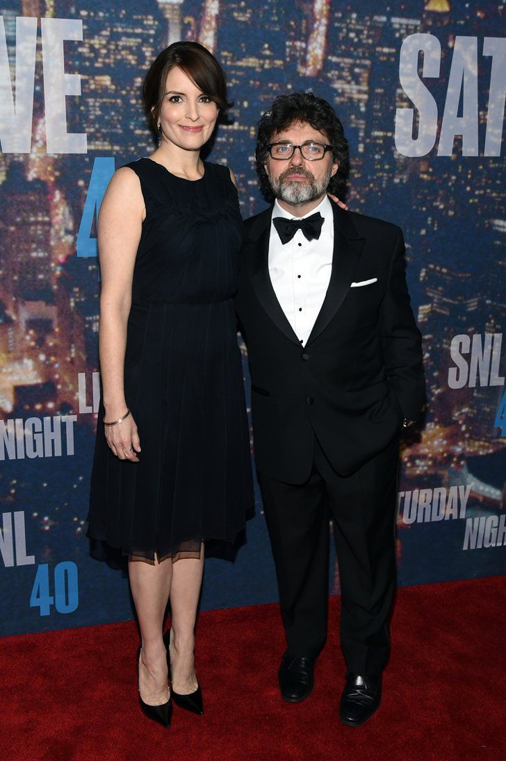 Pin for Later: Anyone Who's Anyone Was at the SNL 40th Anniversary Celebration Tina Fey and Jeff Richmond