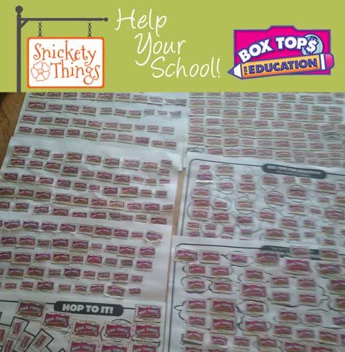 What a Great Box Tops Challenge for the Summer. Shows what just one summer and one family can do with Box Tops for education.
