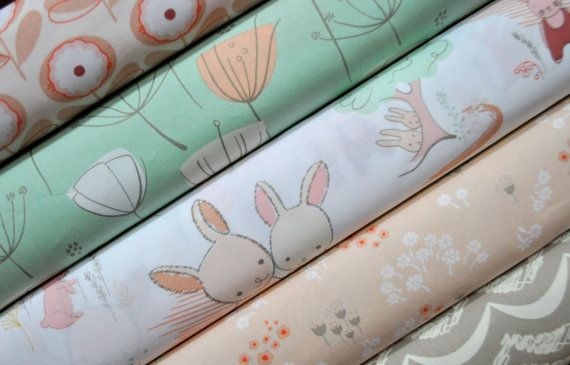 Littlest Fabric Fabric Bundle from Art by SouthernStitchFabric