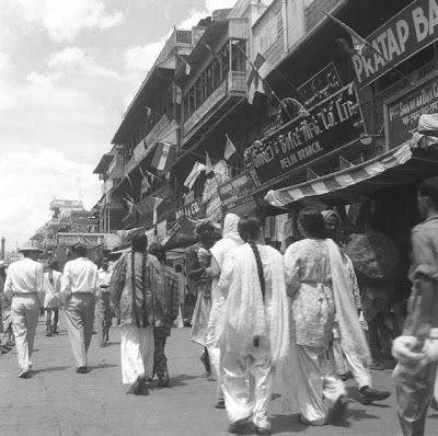 Indian Independence Day Celebration in Delhi - 15 August 1947
