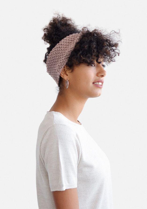 Hairbands – Winter headband, ear warmer / Hand knitted – a unique product by plexida on DaWanda