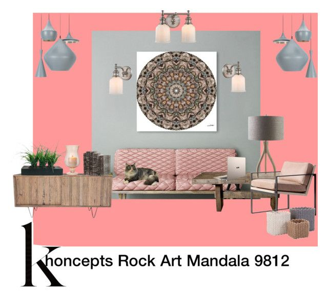 Khoncepts Rock Art Mandala 9812 wall art by khoncepts