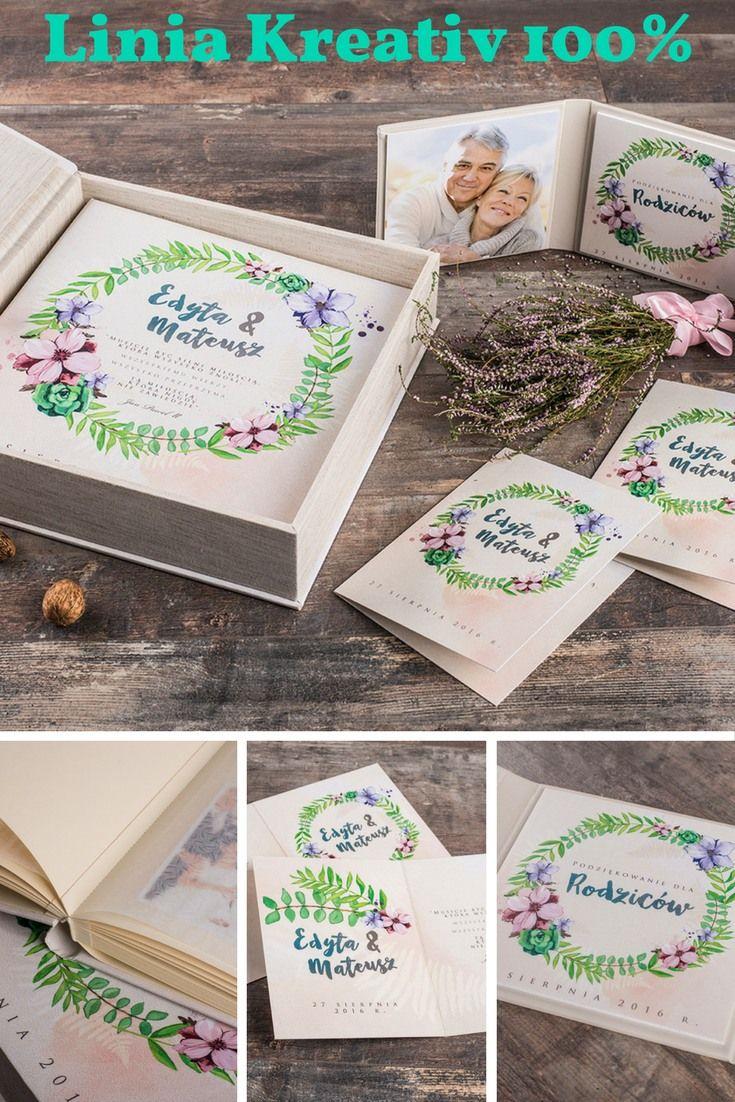 Linia Kreativ 100% - świetny pomysł na personalizowany prezent dla rodziców! Fotoprodukty: Album Tradycyjny, Tripleks, Fotokarta HD.