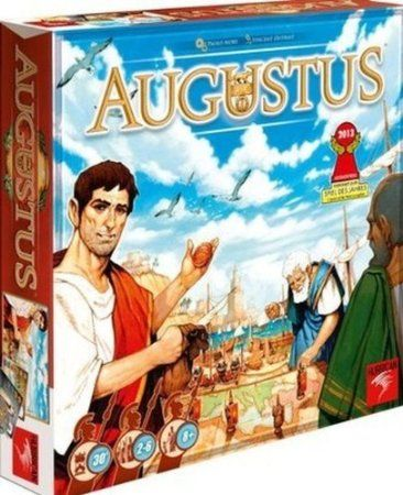 Rise of Augustus Board Game - hmmm looks like it might be fun