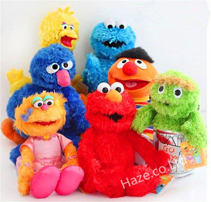 Sesame Street Elmo Zoe Ernie  Cookie Grover Peluche Oiseau Main Fantoche | eBay