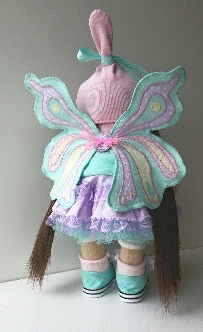 Крылья,куколка.