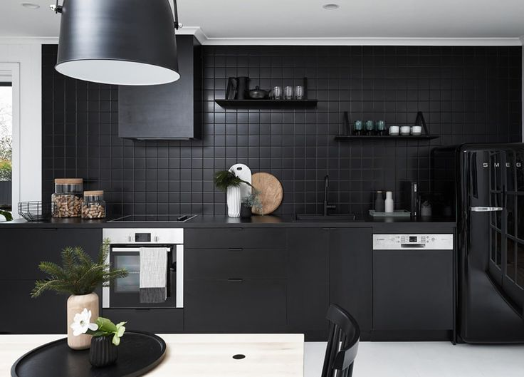 Black Kitchen Tile best 20+ kitchen black appliances ideas on pinterest | black