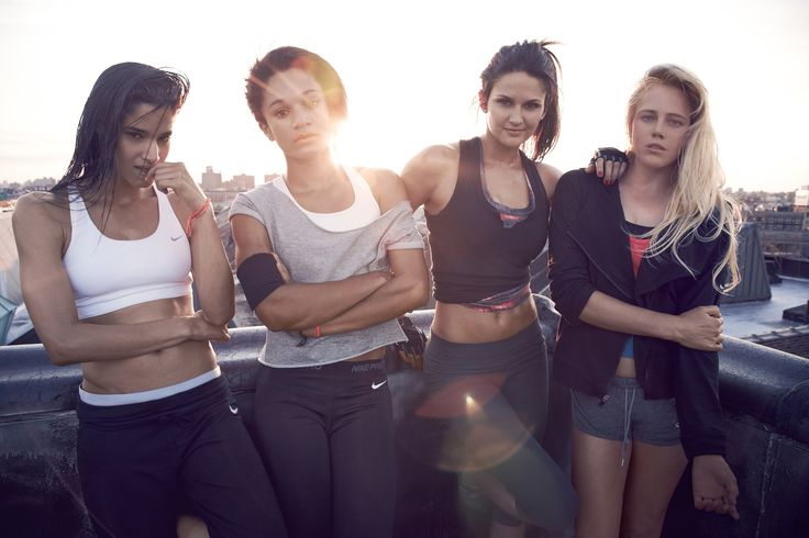 Nike Women's Training 'Make Yourself' Campaign, Spring 2012 - Sofia Boutella, Jodie Williams, Leryn Franco & Laura Enever
