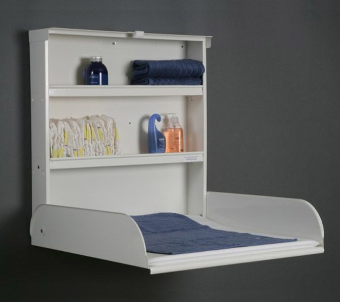 hide away changing table by @Bybo Designs (modern scandinavian products for baby)