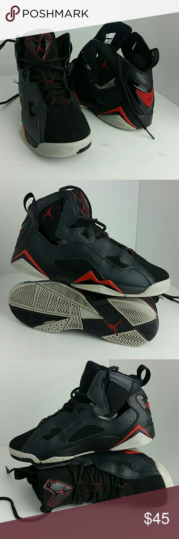 AIR JORDAN TRUE FLIGHT WOMEN/YOUTH SHOES VERY CLEAN INSIDE-OUT   THIS IS A YOUTH SIZE 7Y WHICH IS WOMEN SIZE 8.5  SKE # KU Air Jordan Shoes Athletic Shoes