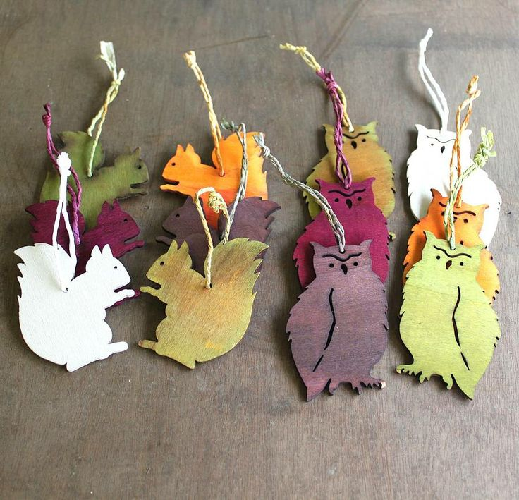 laser cut wooden animal decorations by posh totty designs interiors | notonthehighstreet.com