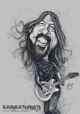 Karikaturisti: Dave Grohl