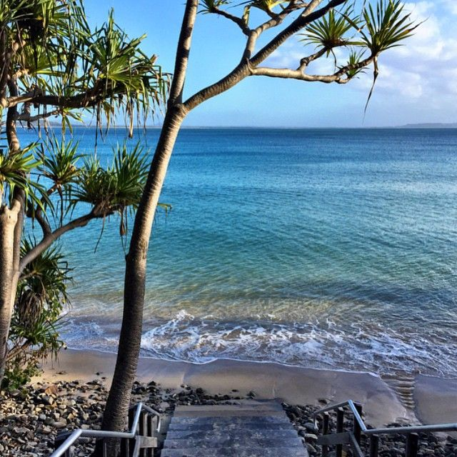 Paradise at Noosa Beach #thisisqueensland photo @whereintheworldisparadise