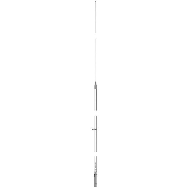 Shakespeare VHF 17.6' w-Base 17.4' w-o Base 6018-R Phase III Marine Antenna